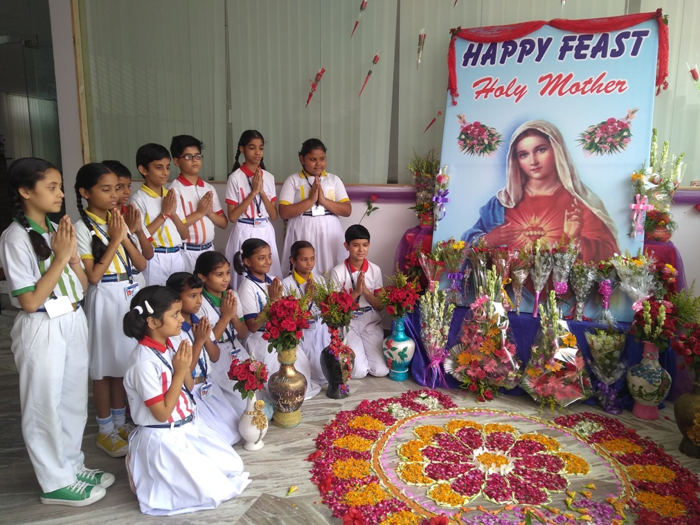MOTHER MARY'S FEAST DAY